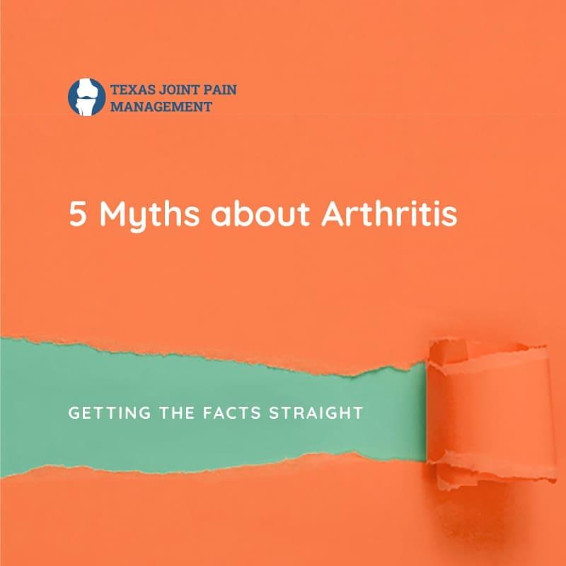 Myth About Arthritis