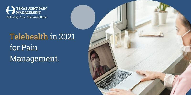 Telehealth in 2021 for Pain Management
