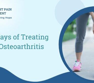 New Ways of Treating Osteoarthritis Knee Pain